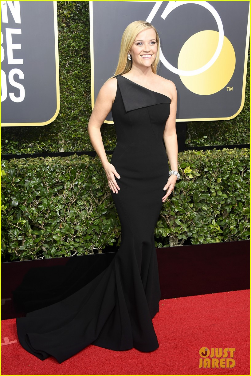 Reese Witherspoon In Zac Posen 2018 Golden Globe Awards