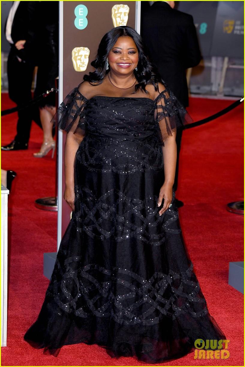celebrities wearing black baftas 08