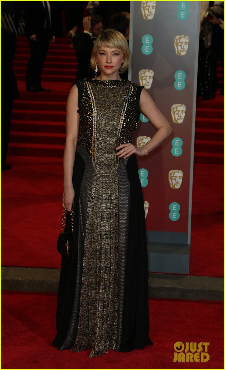 celebrities wearing black baftas 21