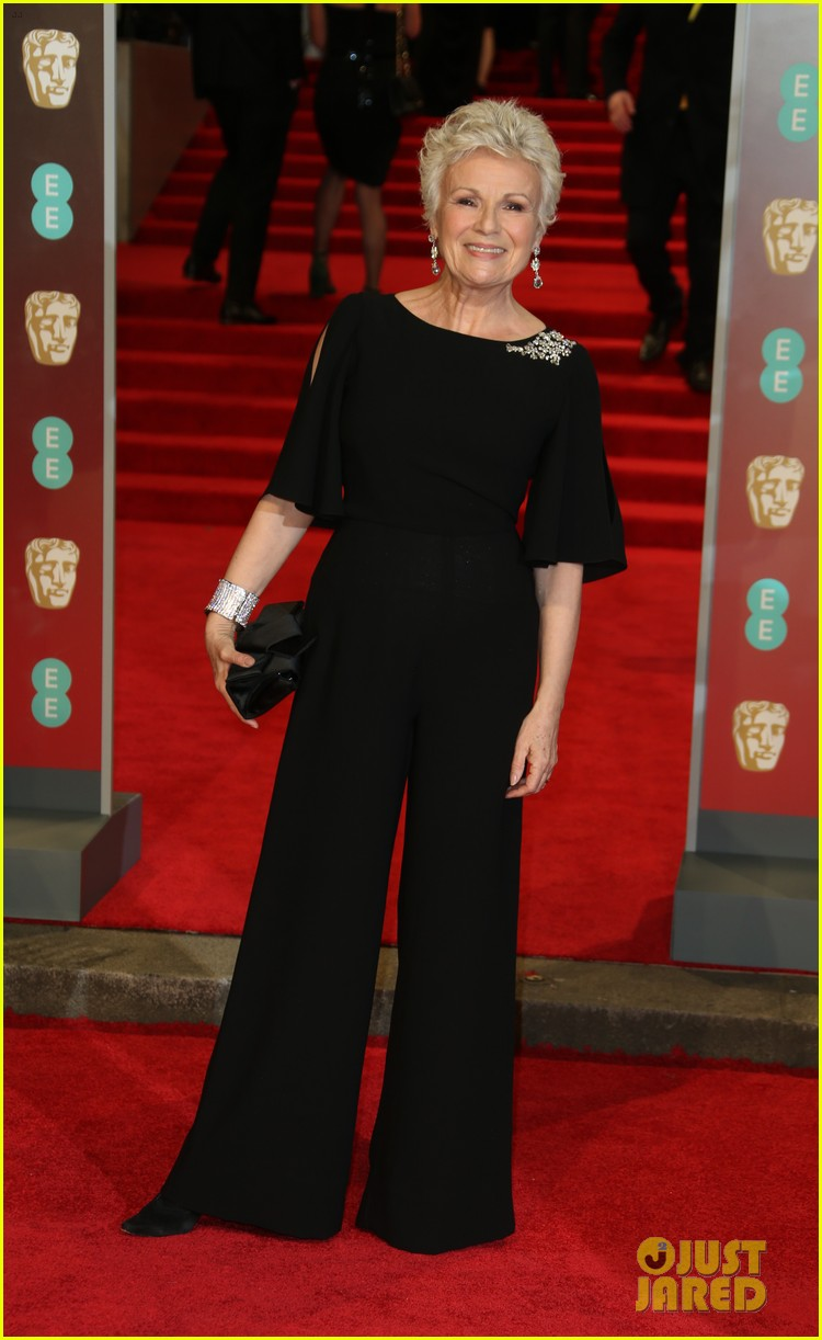 celebrities wearing black baftas 23
