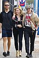 chloe moretz brooklyn beckham go out for birthday brunch 01