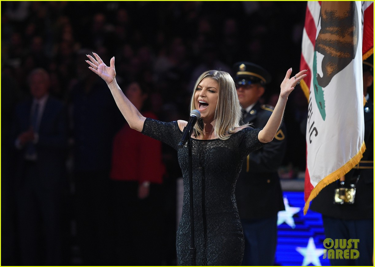 Full Sized Photo Of Fergie Nba All Star Game 2 Photo