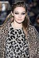gigi hadid rocks leopard leopard for max mara fashion show 02