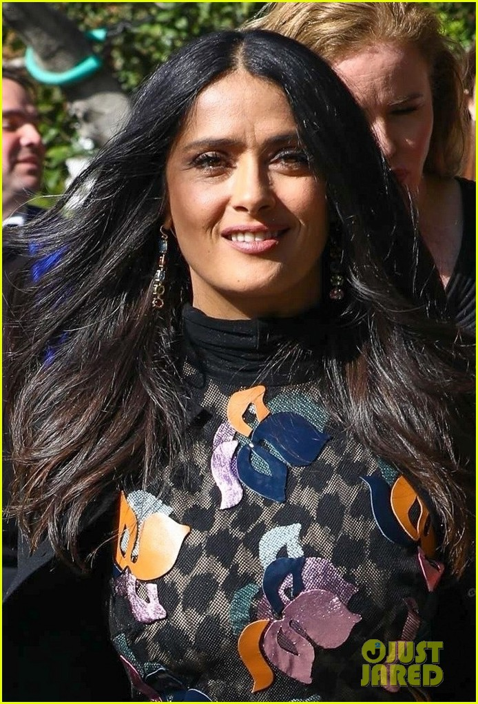 Salma hayek oscars 2005