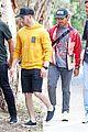 nick jonas meets up with brother joe in australia 05