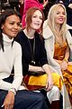 julianne moore sienna miller zoey deutch sit front row at tory burch nyfw runway show 29