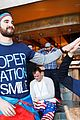 darren criss and fiancee mia swier hit the slopes for operation smile 03