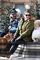 liev schreiber shows some puppy love at the dog park 02