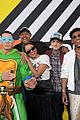 patrick schwarzenegger and kat graham hit the kids choice awards orange carpet 38