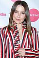 sophia bush goes pretty in stripes for tinder event 02