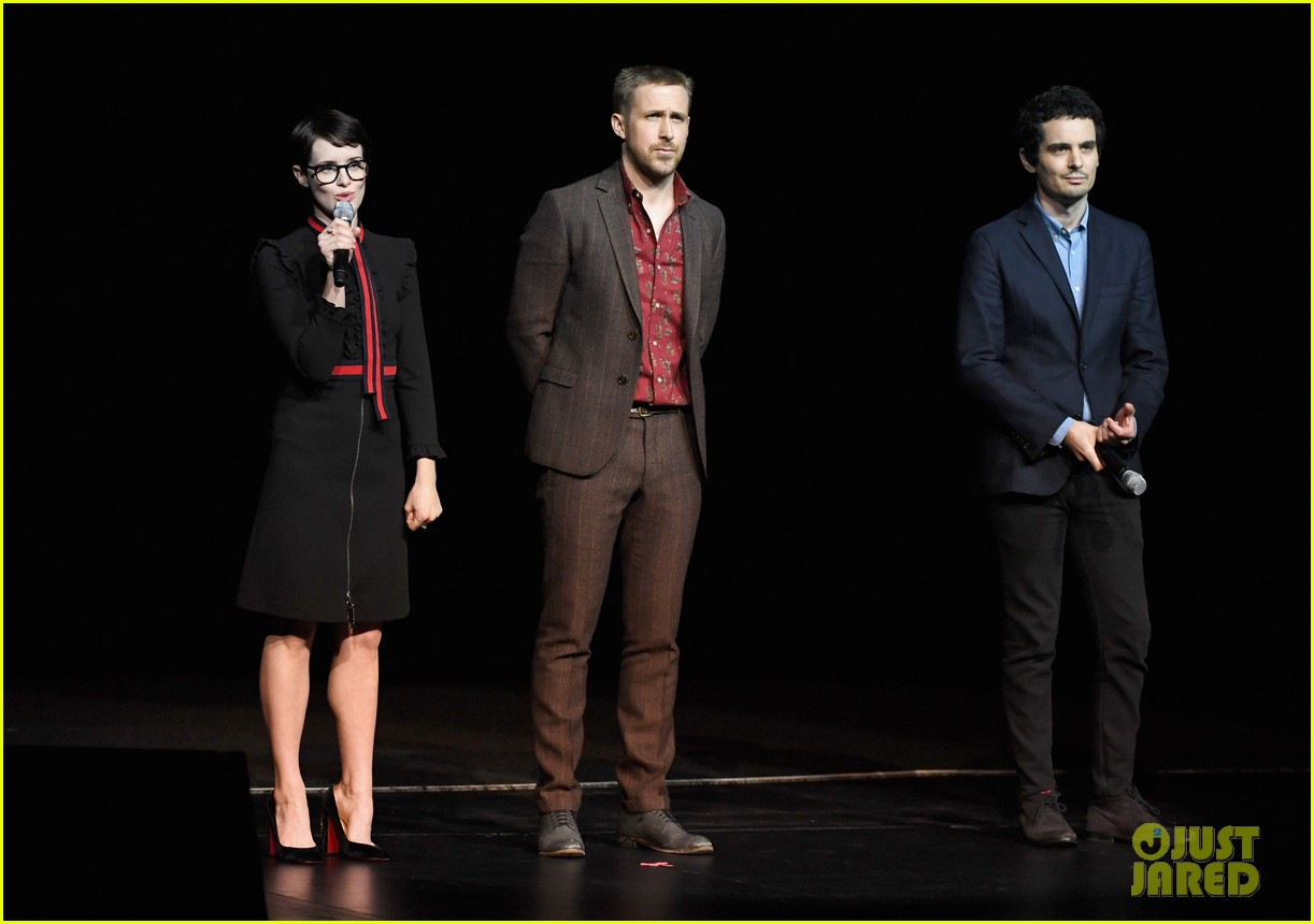 ryan gosling claire foy and damien chazelle talk first man at cinemacon 2018 10
