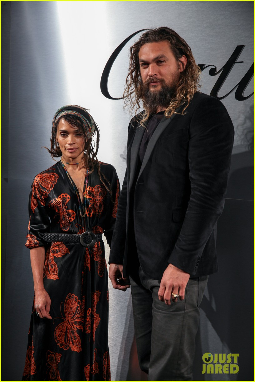 jason momoa lisa bonet more couple up at santos de cartier watch launch 02