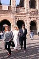 katy perry orlando bloom visit the colosseum in rome 02