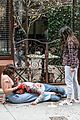 gina rodriguez gets covered in blood on someone great set 03