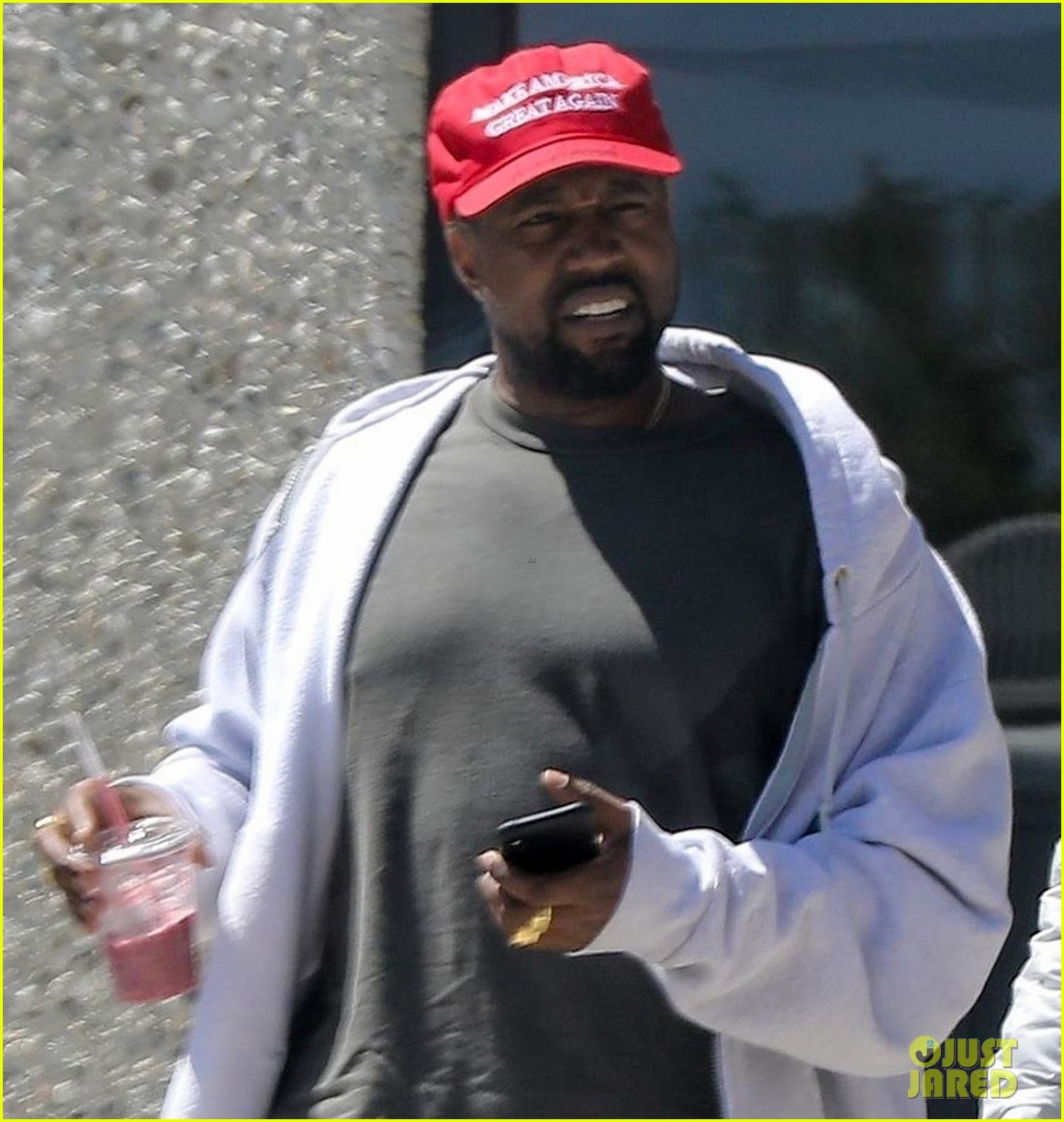 kanye west steps out in a make america great again hat 04