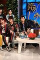 bts gets scared by fan girl on ellen 06