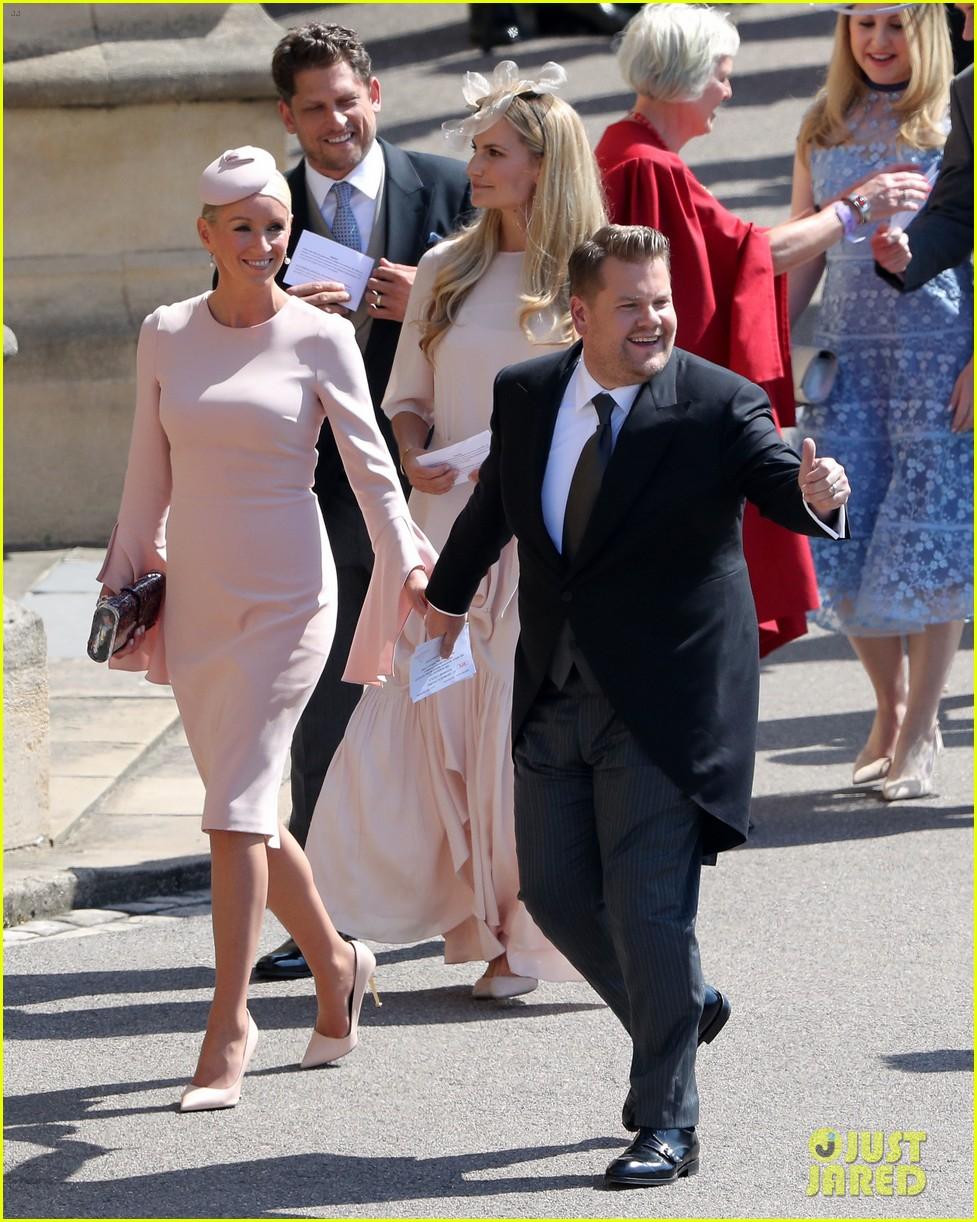 james corden sneeze royal wedding 12