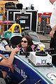 emily ratajkowski formula e racing car may 2018 01 2