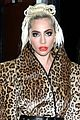 lady gaga rocks fierce leopard print outfit in nyc 02
