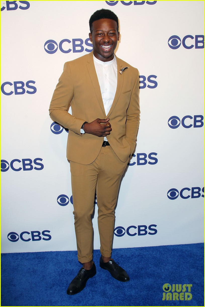 brandon micheal hall brings god friended me to cbs upfronts 05