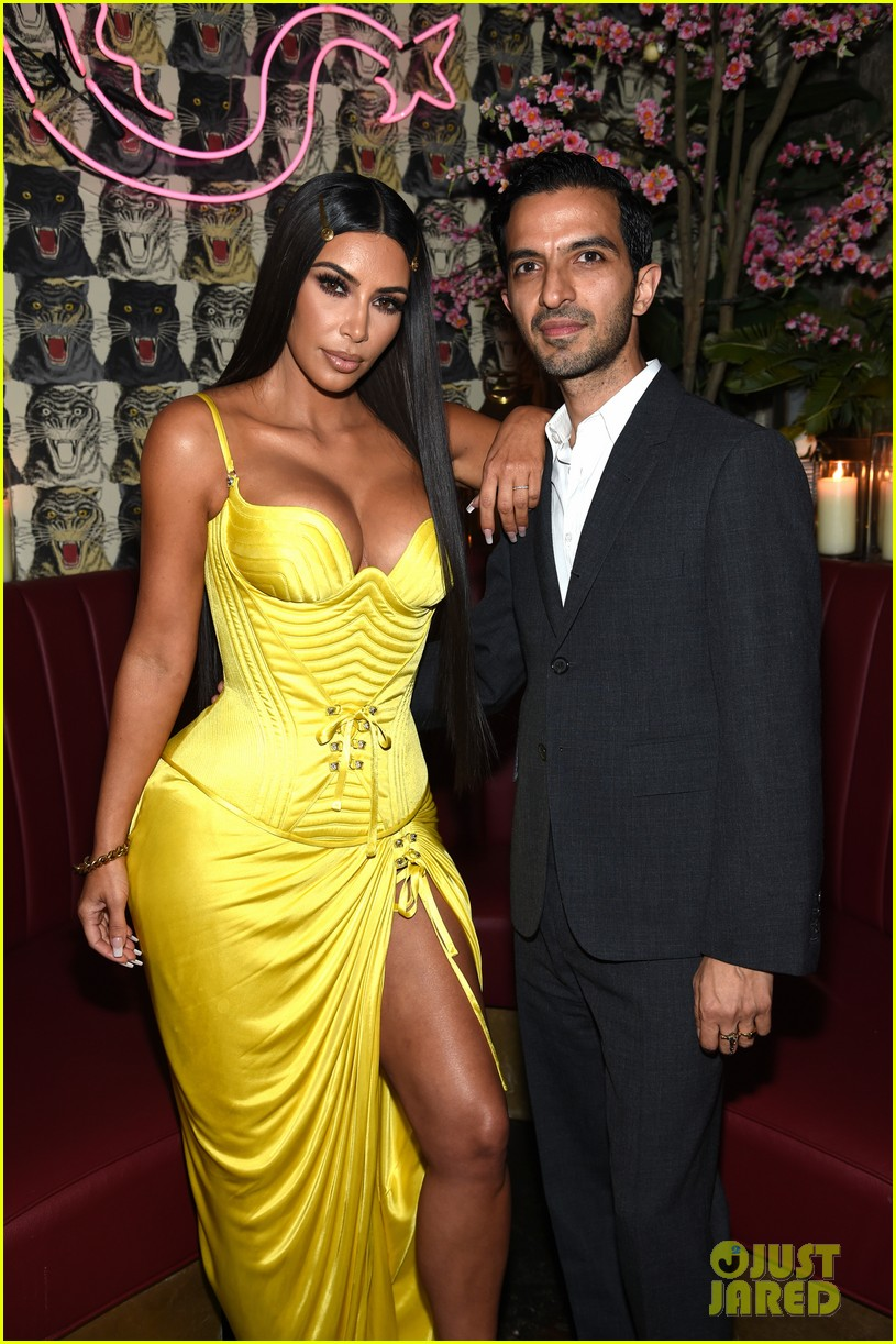 kim kardashian kendall kylie business of fashion dinner 15