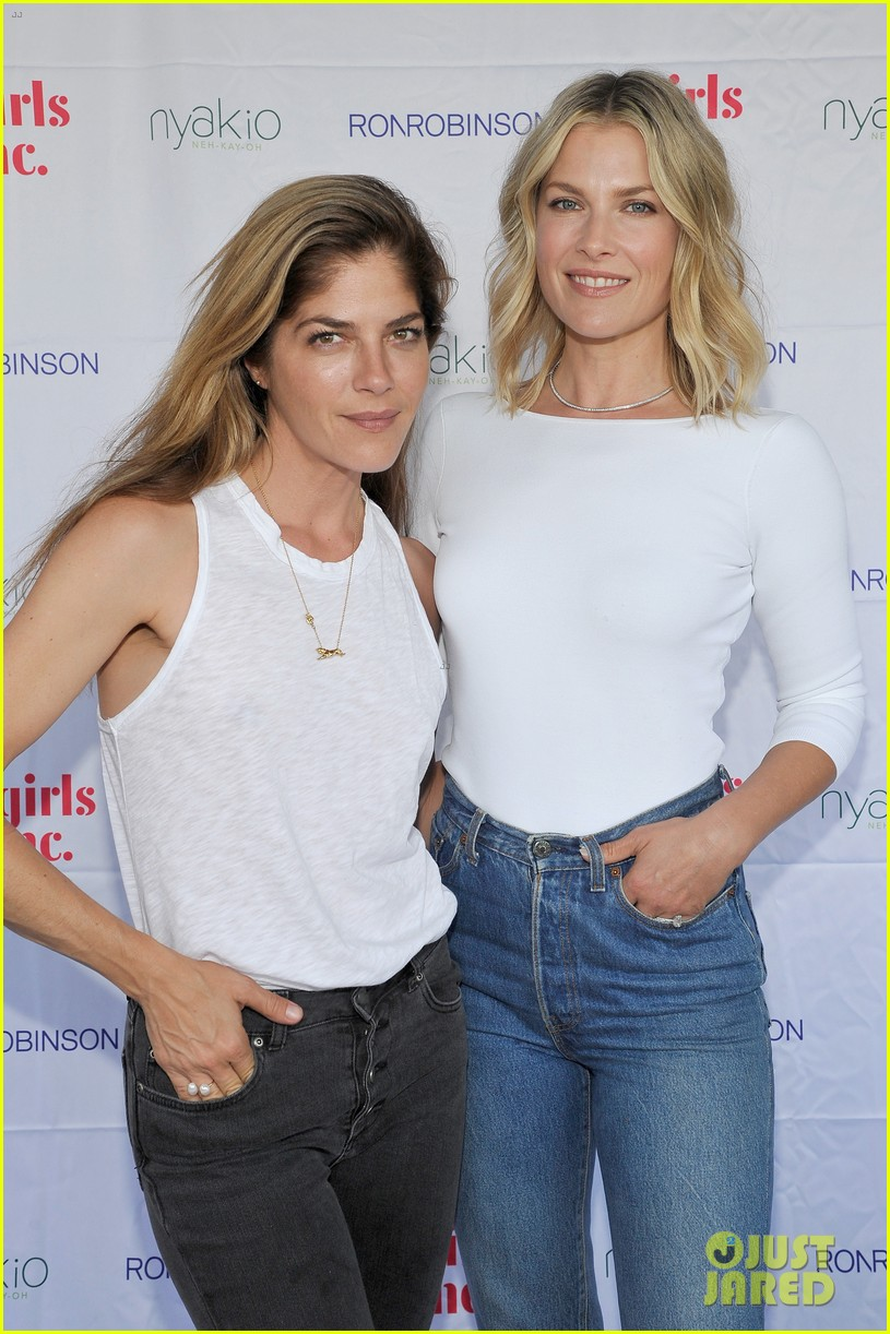 ali larter is joined by selma blair at nyakio launch event in LA 7