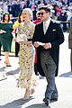 carey mulligan goes pretty in floral marcus mumford royal wedding 05