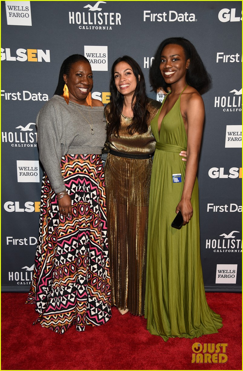 rosario dawson gets honored at glsen respect awards 10