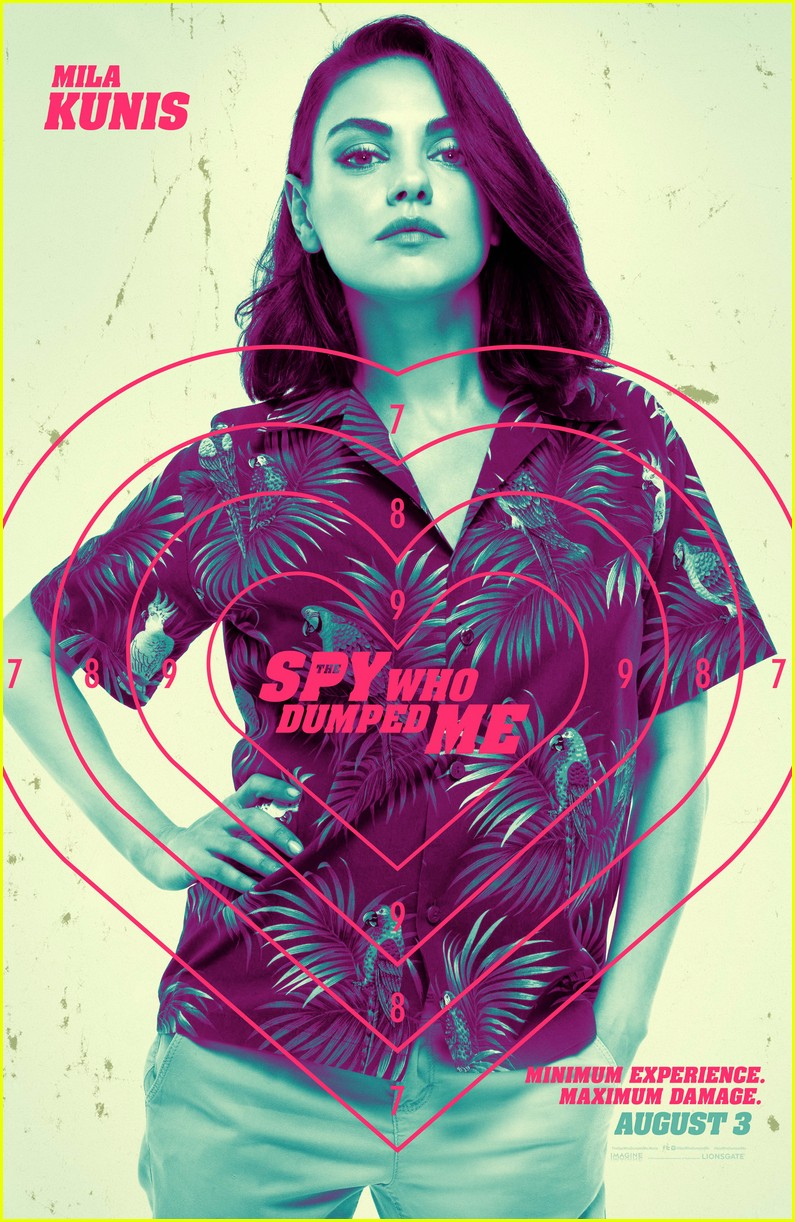 the spy who dumped me posters 01