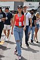 tom brady bella hadid represent tag heur at formula one grand prix 18