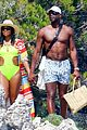 gabrielle union and shirtless dwyane wade show some sweet pda on vacation 10