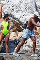 gabrielle union and shirtless dwyane wade show some sweet pda on vacation 29