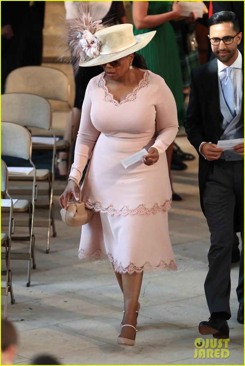 Oprah Winfrey Royal Wedding Outfit 09