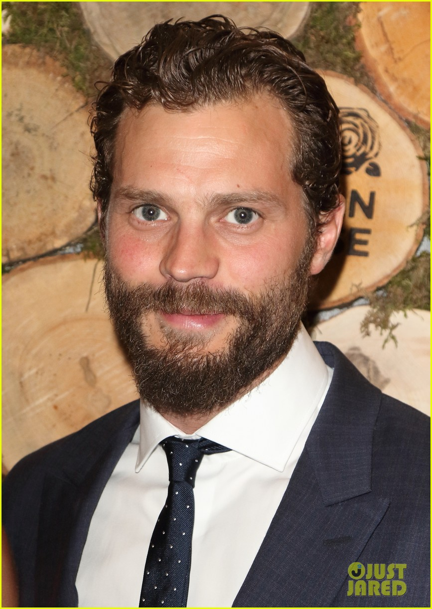 jamie dornan wife amelia step out for niall horan charity event 02