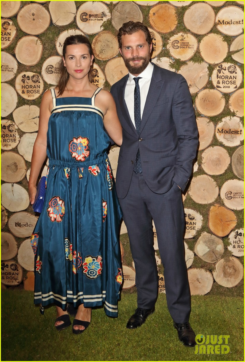 jamie dornan wife amelia step out for niall horan charity event 08
