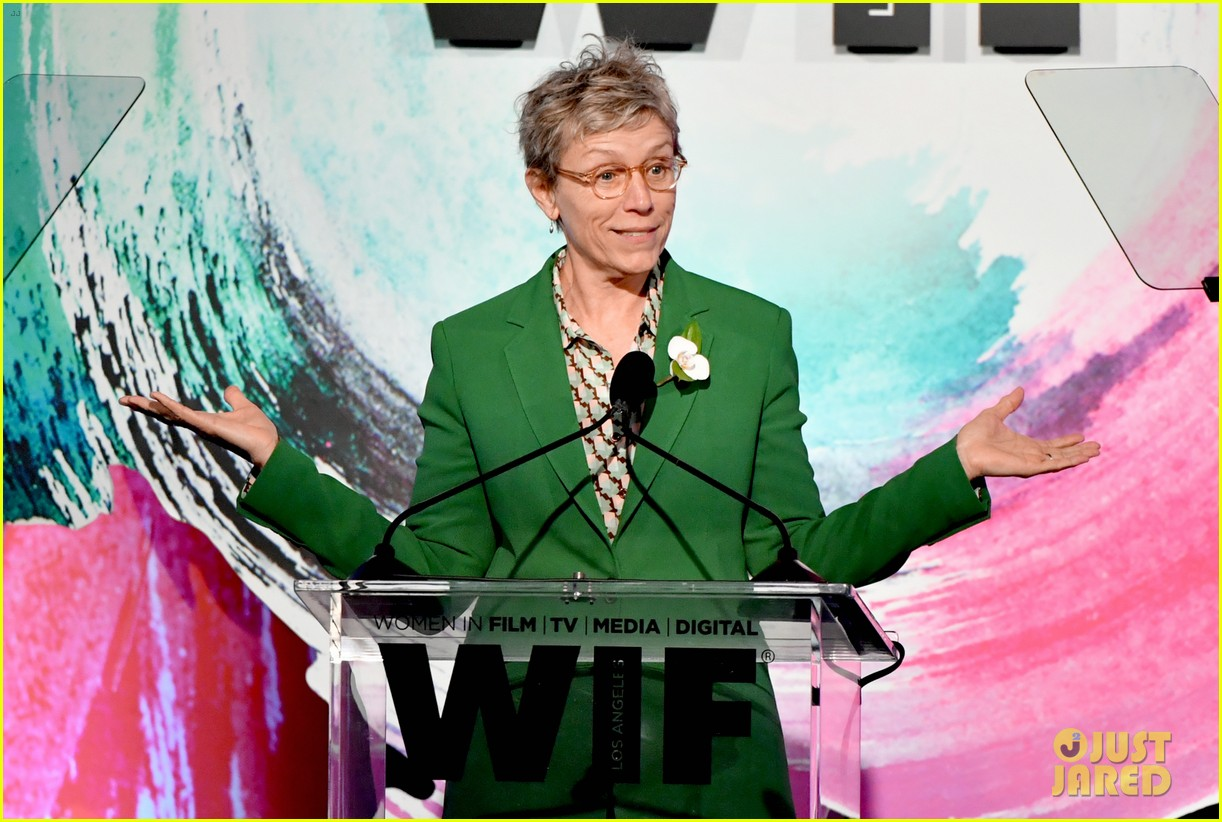 frances mcdormand doubles down on inclusion riders at women in film crystal lucy awards 01