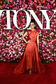 lauren ridloff condola rashad go glam in red for tony awards 2018 08