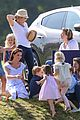 prince william plays polo family watches 40