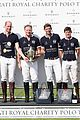 prince william plays polo family watches 56