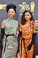 yara shahidi joins grown ish co stars at mtv movie tv awards 03
