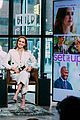 zoey deutch glen powell build series 2018 04