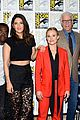 kristen bell ted danson promote the good place at comic con 12
