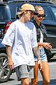 justin bieber hailey baldwin brunch nyc 02