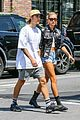 justin bieber hailey baldwin brunch nyc 30