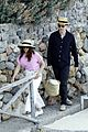 felicity jones charles guard hit the beach honeymoon 05