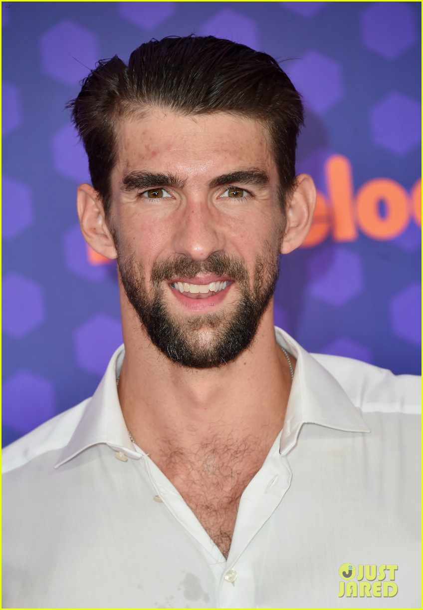 Michael Phelps & Wife Nicole Bring Their Two Kids to