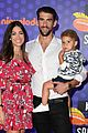 michael phelps wife kids nickelodeon kids choice sports awards 06