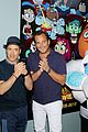 will arnett robert downey jr teen titans screening 03