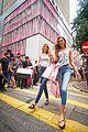 martha hunt josephine skriver celebrate victorias secret hong kong flagship store launch 18