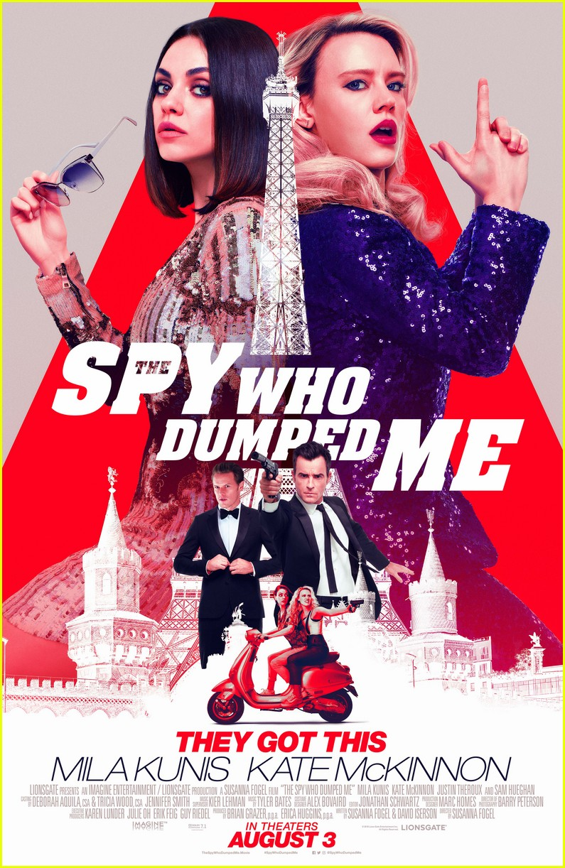 the spy who dumped me new poster clip 01